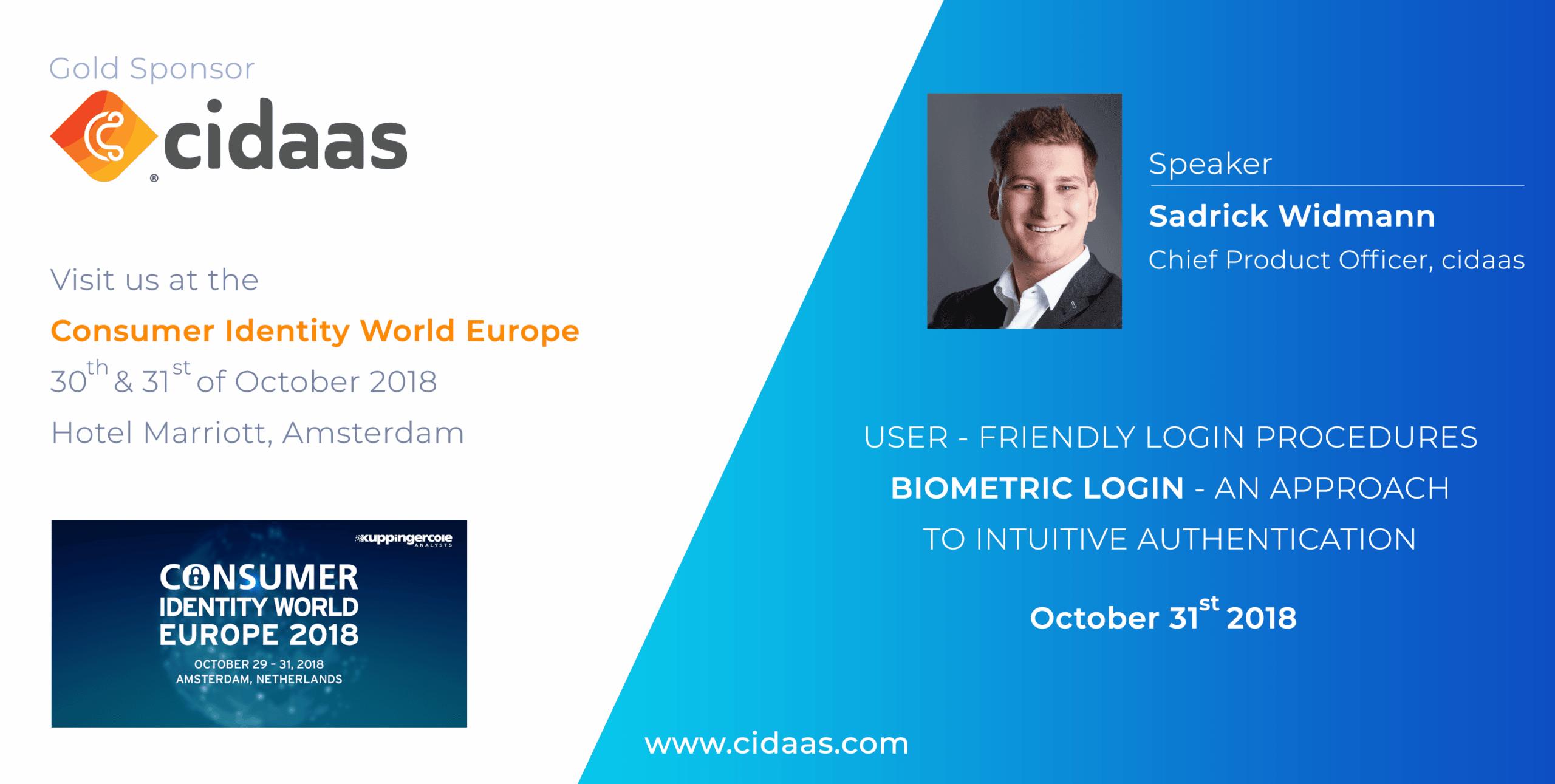 Consumer identity world EUROPE 2018