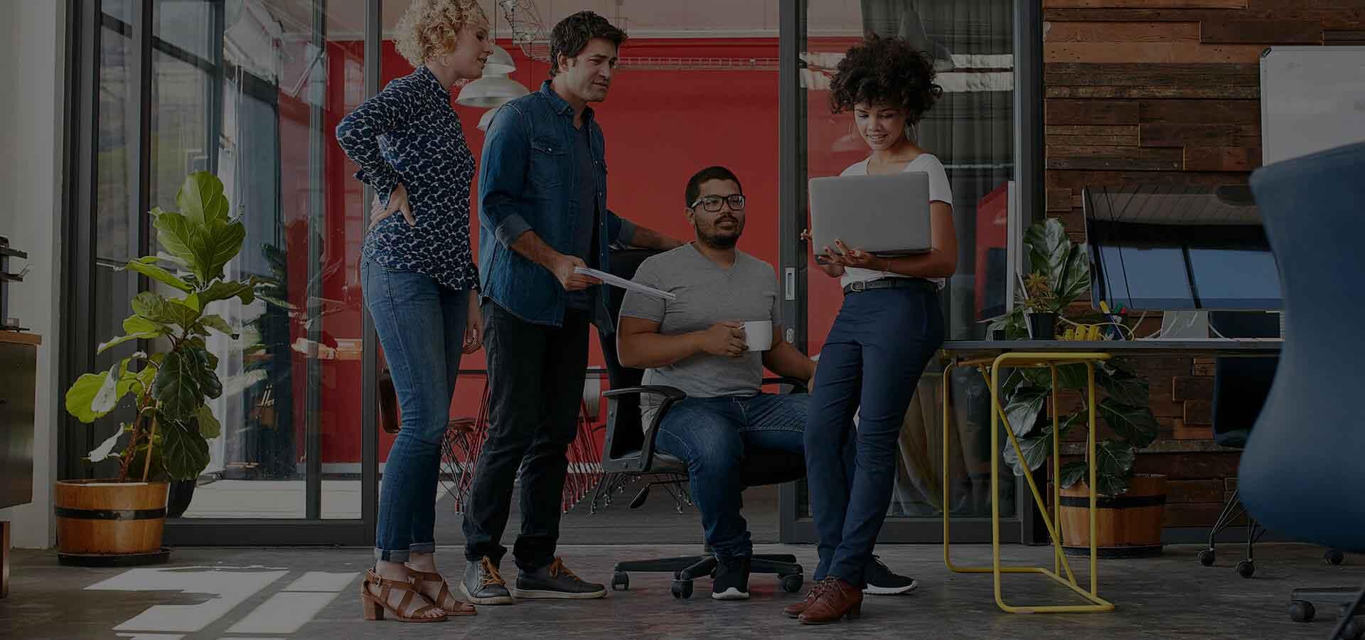 Wir helfen Unternehmen in eine nahtlos digitale und sichere Zukunft