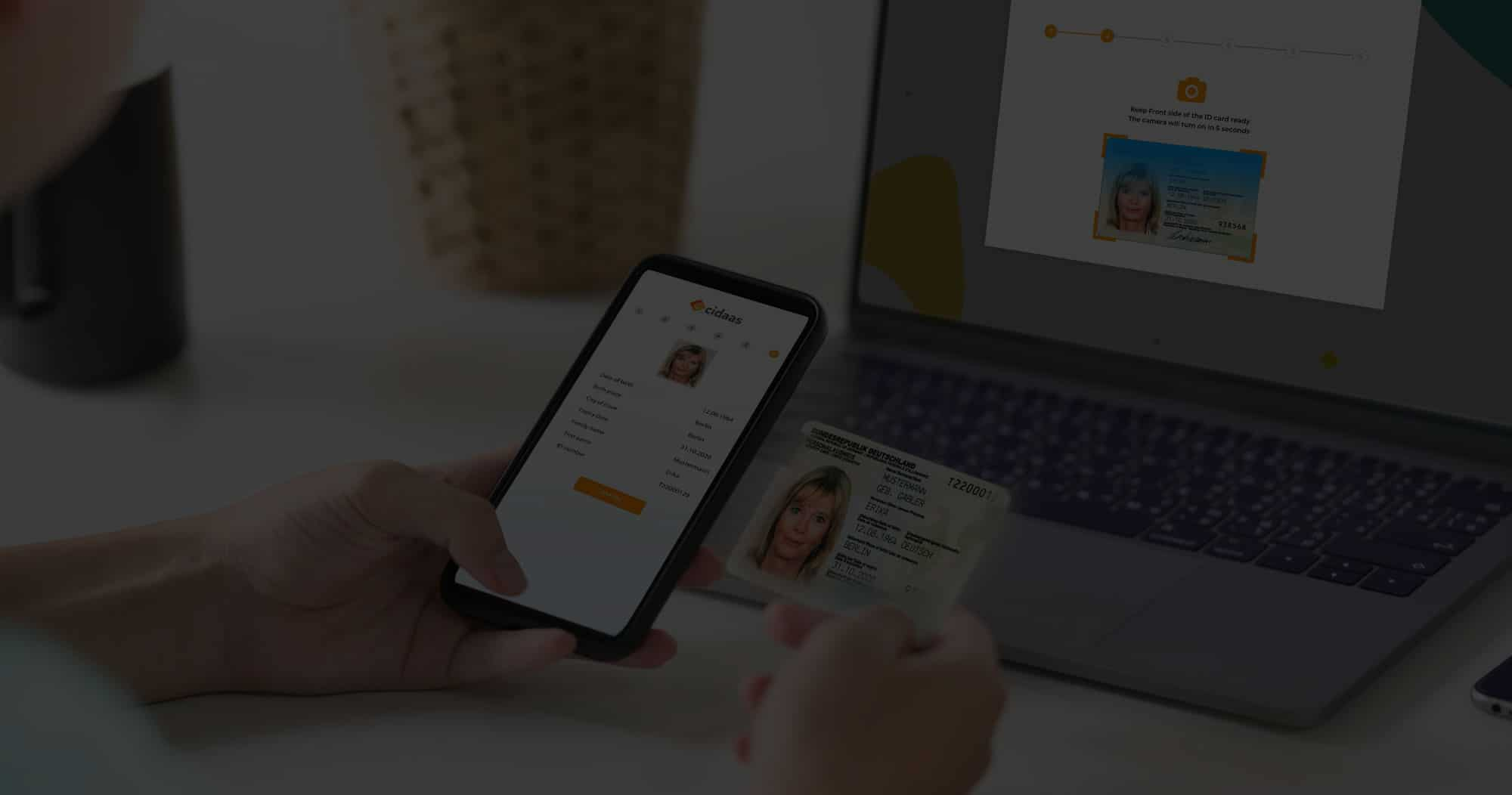digital identity verification is very important in the digital world. with cidaas you achieve seamless customer experience