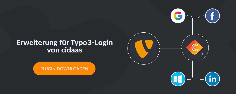 Extension for Typo3 login von cidaas