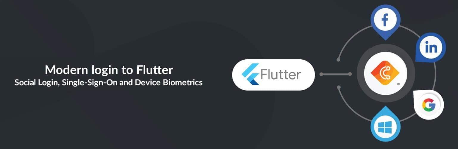 Modern login to Flutter: Social Login, Single-Sign-On and Device Biometrics