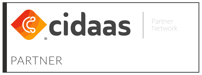 cidaas Partner Logo - Cloud Identity and Access Management