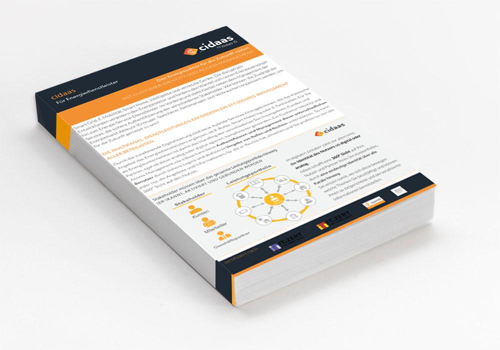 Factsheet: cidaas for energy service providers