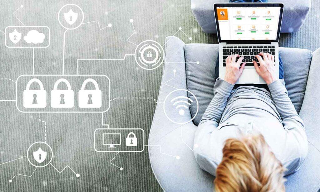 Sécurité maximale grâce à l'authentification multifactorielle et à la sécurité de l'API pour les plates-formes d'enseignement numérique.