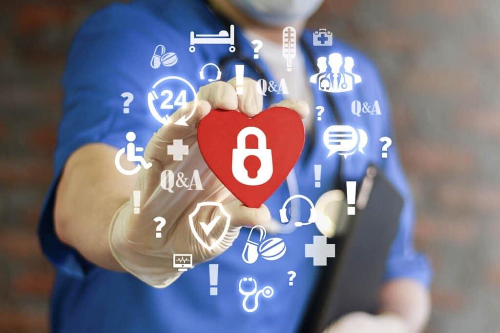 Gestion des identités et des accès avec authentification unique pour les services numériques de soins médicaux personnalisés