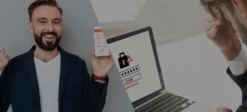 Digitale Identitäten sichern ! Tschüss Passwort- Hallo modernes Login
