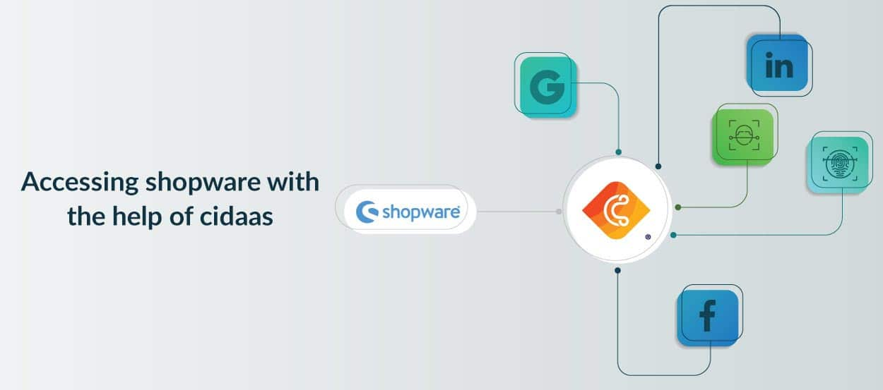 Accessing shopware with the help of cidaas